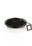 ALEXANDER WANG LARGE CHASTITY MAKE UP POUCH IN BLACK SMALL LEATHER GOOD Adult 8_n_a