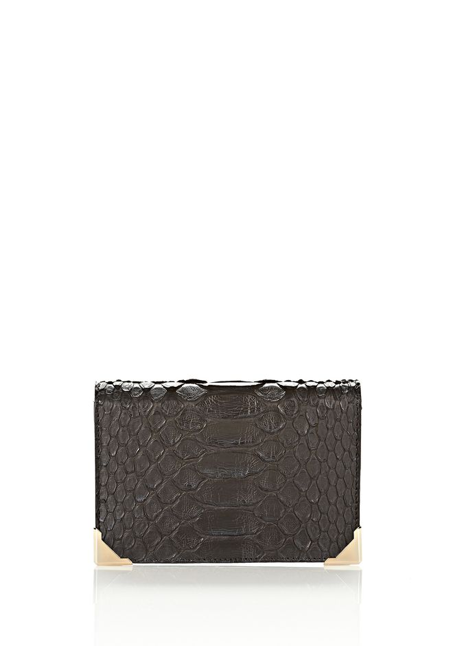 ALEXANDER WANG PRISMA SKELETAL BIKER PURSE IN EMBOSSED PYTHON Wallets Adult 12_n_f