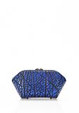 ALEXANDER WANG CHASTITY MAKE UP POUCH IN CONTRAST TIP NILE SMALL LEATHER GOOD Adult 8_n_e