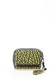 ALEXANDER WANG LARGE FUMO IN CONTRAST TIP CITRON Wallets Adult 8_n_r