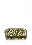 ALEXANDER WANG FUMO CONTINENTAL WALLET IN CONTRAST TIP CITRON Wallets Adult 8_n_f