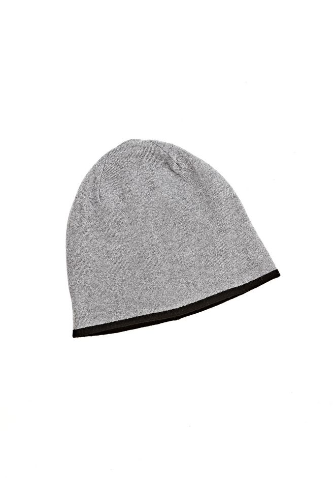 T by ALEXANDER WANG CASHMERE WOOL KNIT REVERSIBLE BEANIE Scarf & Hat Adult 12_n_f