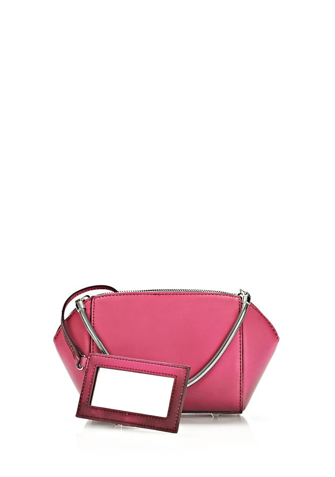 ALEXANDER WANG HEAT SENSITIVE CHASTITY MAKE UP POUCH IN SUPERNOVA SMALL LEATHER GOOD Adult 12_n_e
