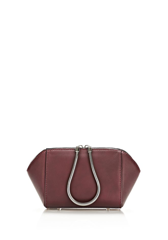 ALEXANDER WANG HEAT SENSITIVE CHASTITY MAKE UP POUCH IN SUPERNOVA SMALL LEATHER GOOD Adult 12_n_f