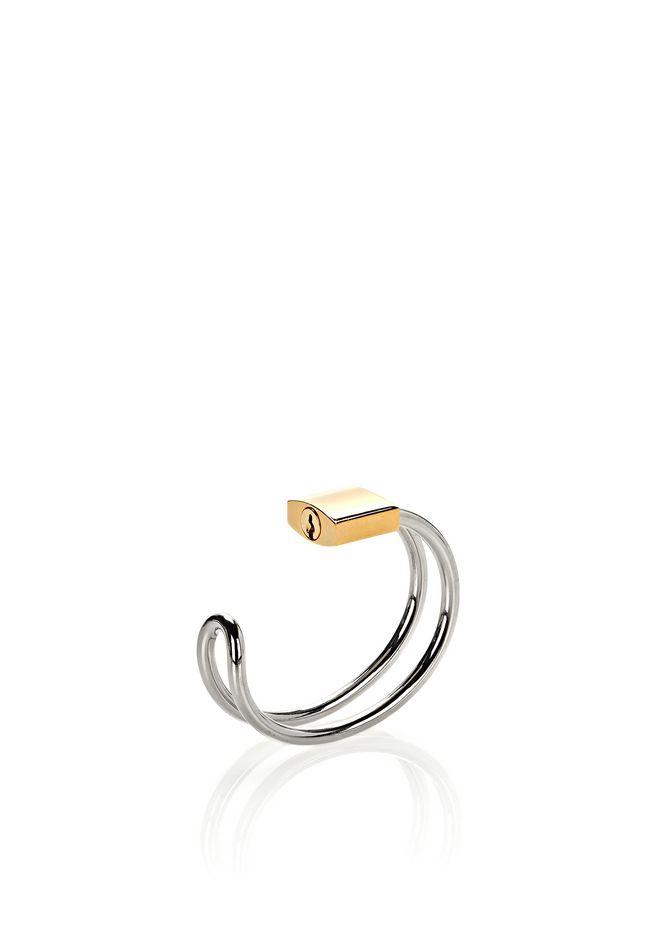 ALEXANDER WANG accessoires-classics LOCK HINGE CUFF BRACELET