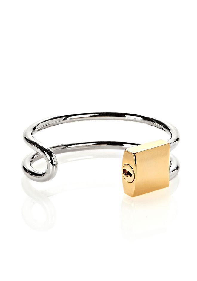 ALEXANDER WANG LOCK HINGE CUFF BRACELET  Accessories Adult 12_n_d