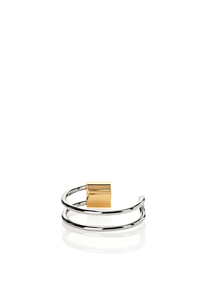 ALEXANDER WANG LOCK HINGE CUFF BRACELET  Accessories Adult 12_n_e