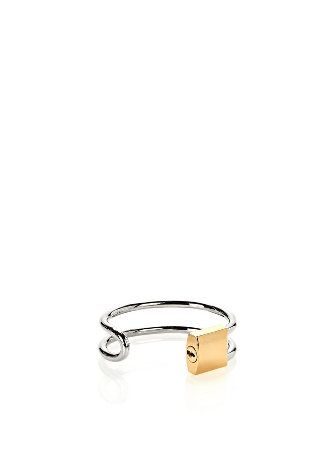 ALEXANDER WANG LOCK HINGE CUFF BRACELET  Accessories Adult 12_n_r