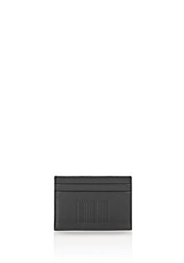 EMBOSSED LOGO CARDHOLDER IN BLACK