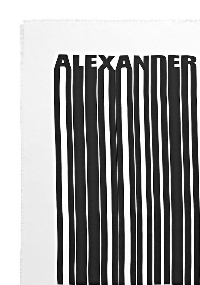 Alexander Wang BARCODE LOGO SILK SCARF  Scarf & Hat