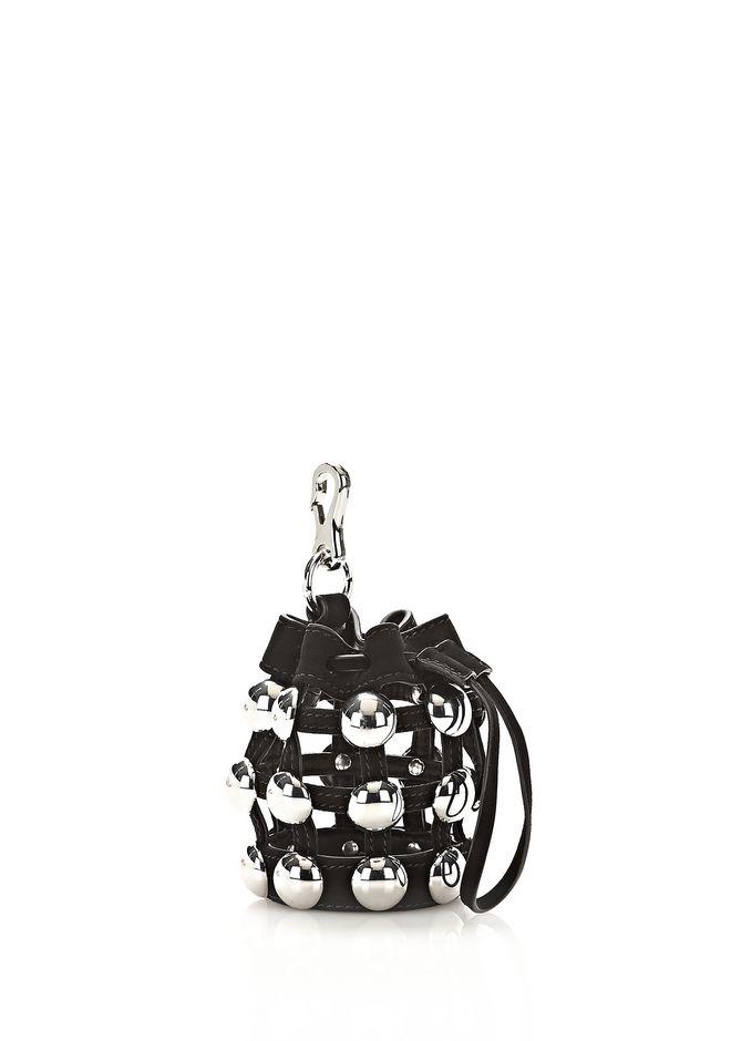 Alexander Wang Mini Roxy Studs Key Chain in Black 4gfPQq2k
