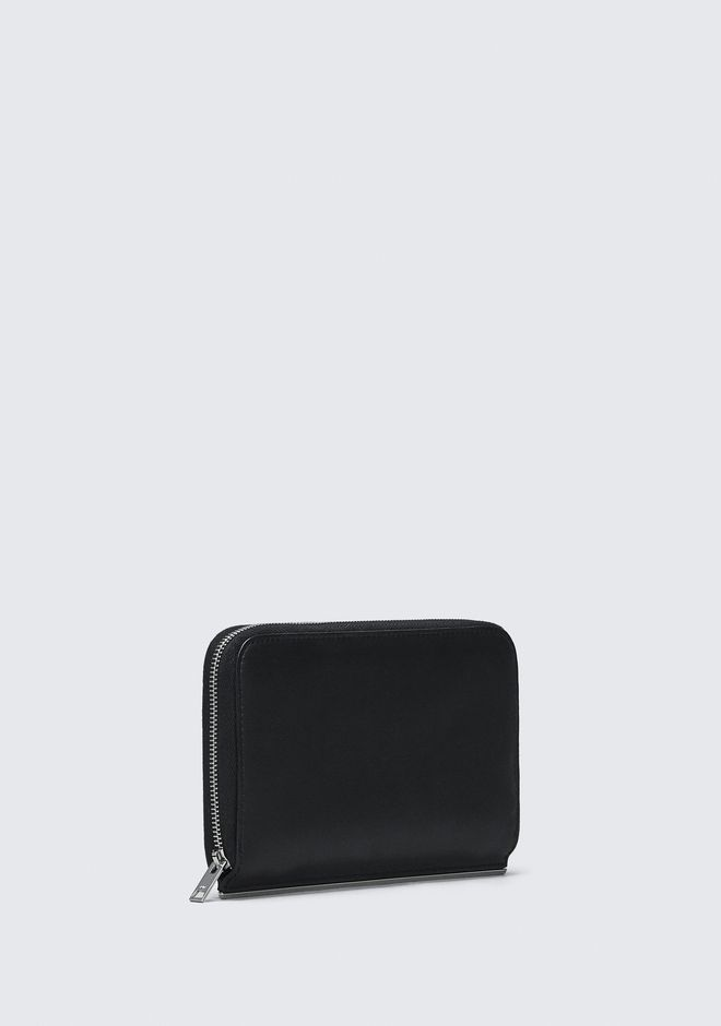 ALEXANDER WANG DIME CONTINENTAL WALLET IN BLACK ARTICLE DE PETITE MAROQUINERIE Adult 12_n_d