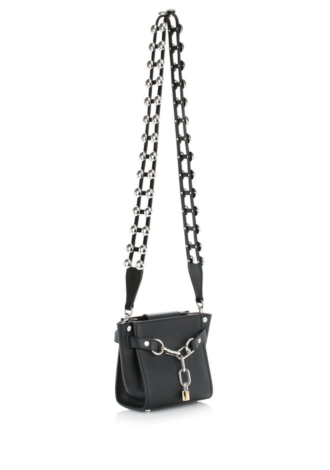 ALEXANDER WANG DOME STUD CAGE SHOULDER STRAP Accessories Adult 12_n_d