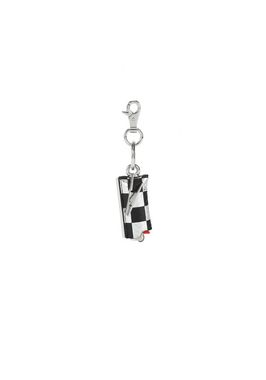 SMALL LIGHTER CASE IN CHECKERBOARD ELAPHE