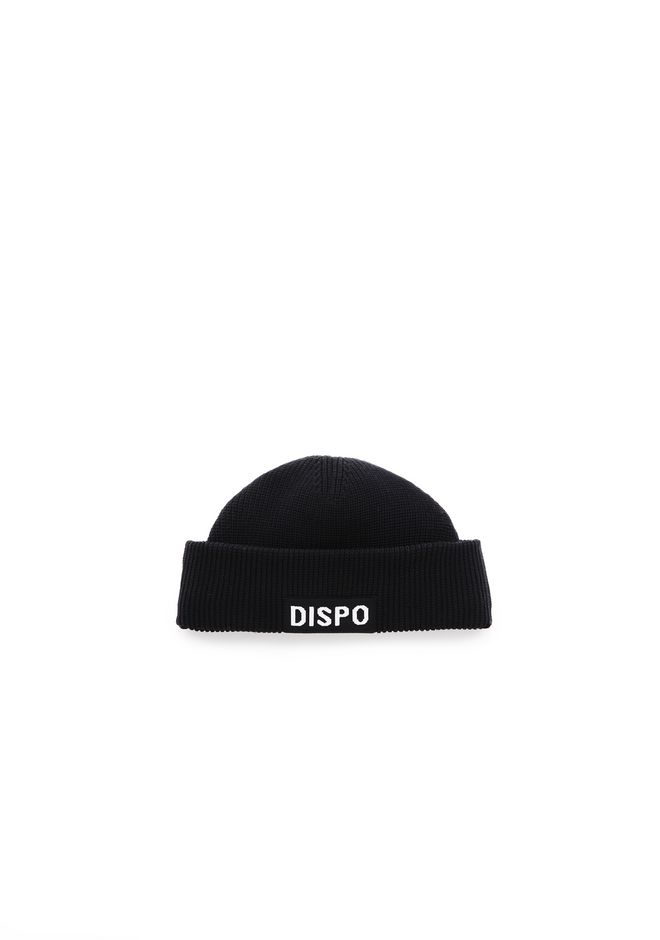 "ALEXANDER WANG nouveautes FISHERMAN'S BEANIE WITH ""DISPO"" PATCH"