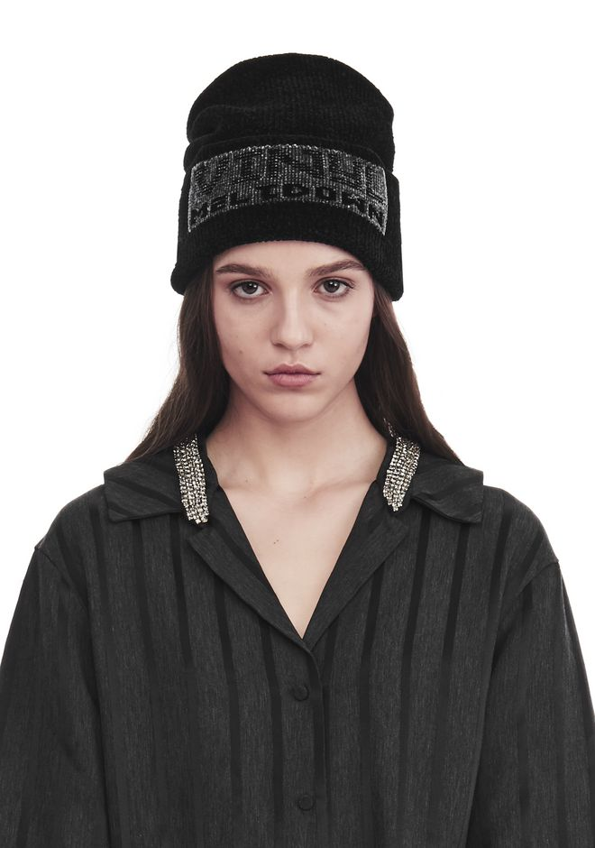 ALEXANDER WANG VINLY MELTDOWN' JACQUARD BEANIE Scarf & Hat Adult 12_n_r