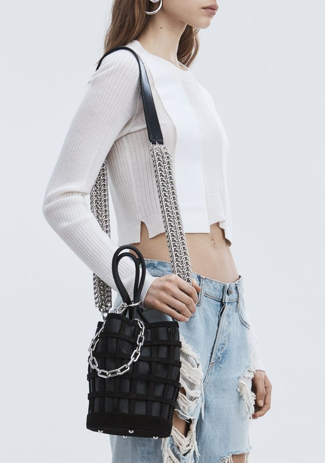 ALEXANDER WANG BOX CHAIN SHOULDER STRAP BELTS & BAG STRAPS Adult 12_n_r