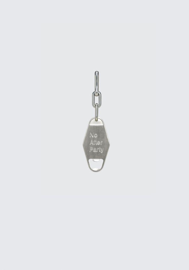 Bottle Opener Keychain by Alexander Wang