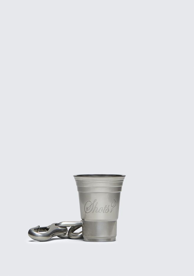 ALEXANDER WANG party-pack SHOT GLASS KEYCHAIN