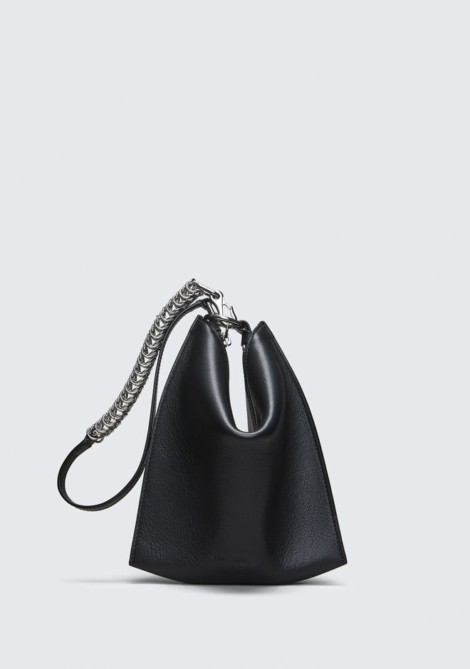 ALEXANDER WANG SMALL LEATHER GOODS Women BLACK GENESIS MINI FOLDING POUCH