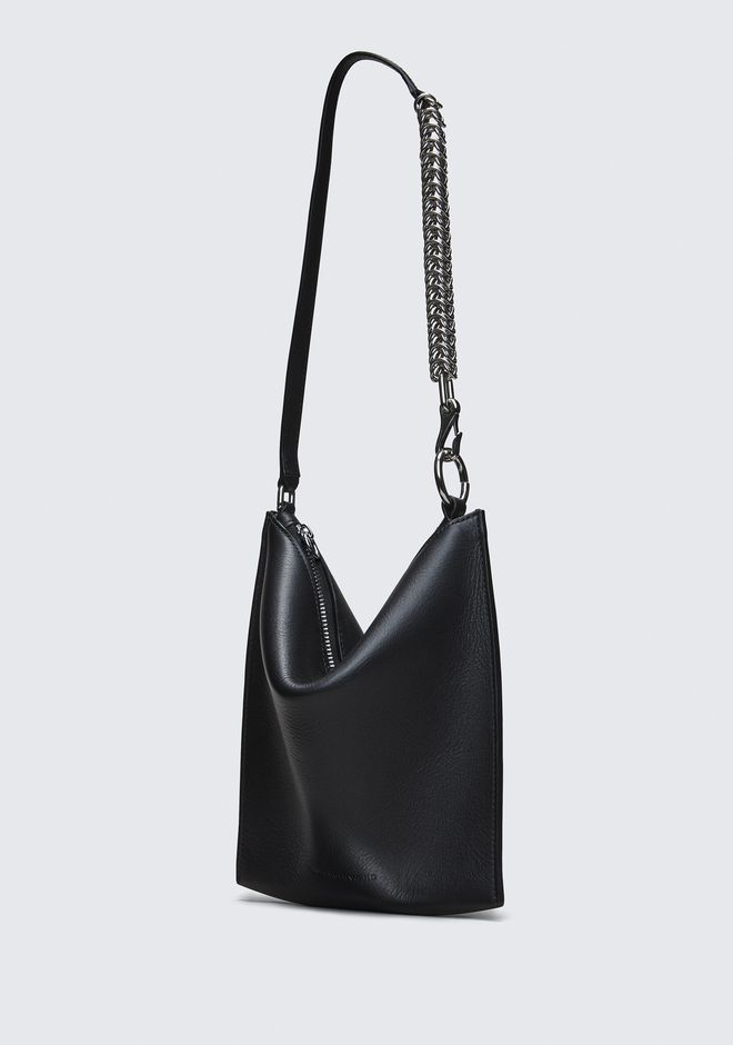 ALEXANDER WANG BLACK GENESIS MINI FOLDING POUCH 가죽 소품 Adult 12_n_a