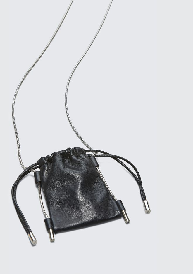 ALEXANDER WANG RYAN NECK POUCH 가죽 소품 Adult 12_n_d
