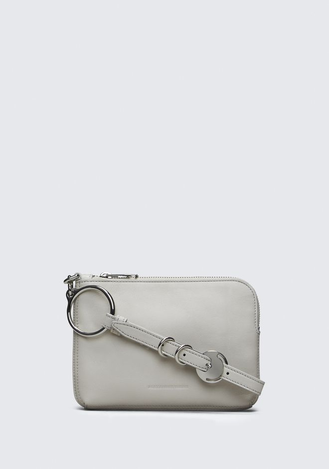 ALEXANDER WANG SMOKE ACE SMALL WRISTLET  SMALL LEATHER GOOD Adult 12_n_f
