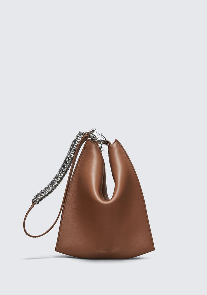 ALEXANDER WANG accessories TERRACOTTA GENESIS MINI FOLDING POUCH