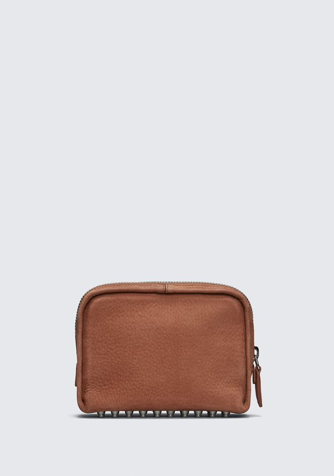 ALEXANDER WANG TERRACOTTA FUMO COSMETIC POUCH 가죽 소품 Adult 12_n_a