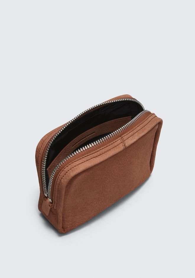 ALEXANDER WANG TERRACOTTA FUMO COSMETIC POUCH 가죽 소품 Adult 12_n_d