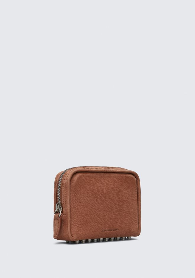 ALEXANDER WANG TERRACOTTA FUMO COSMETIC POUCH 가죽 소품 Adult 12_n_e