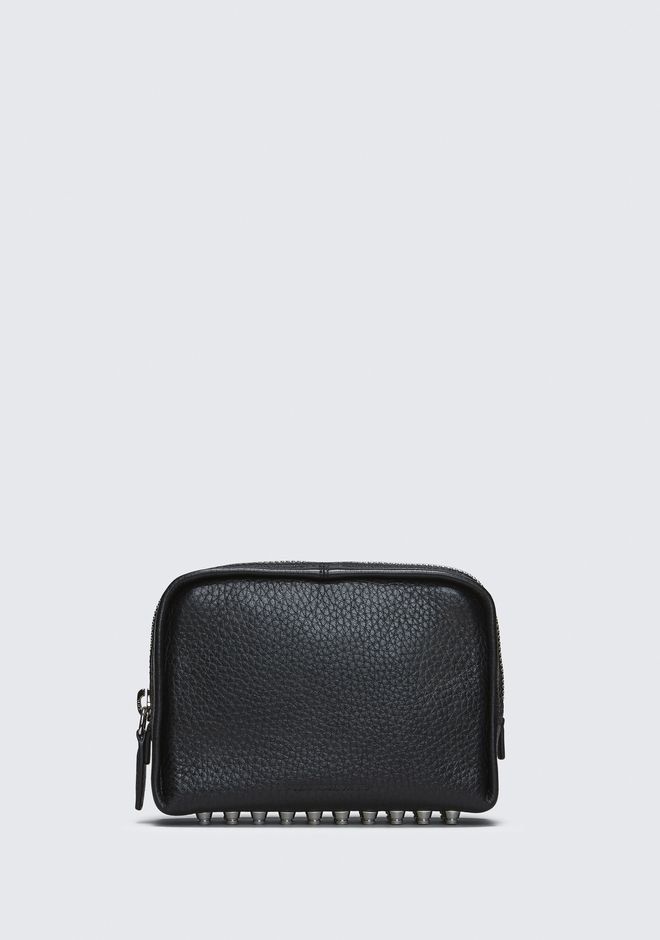 ALEXANDER WANG new-arrivals-accessories-woman BLACK FUMO COSMETIC POUCH