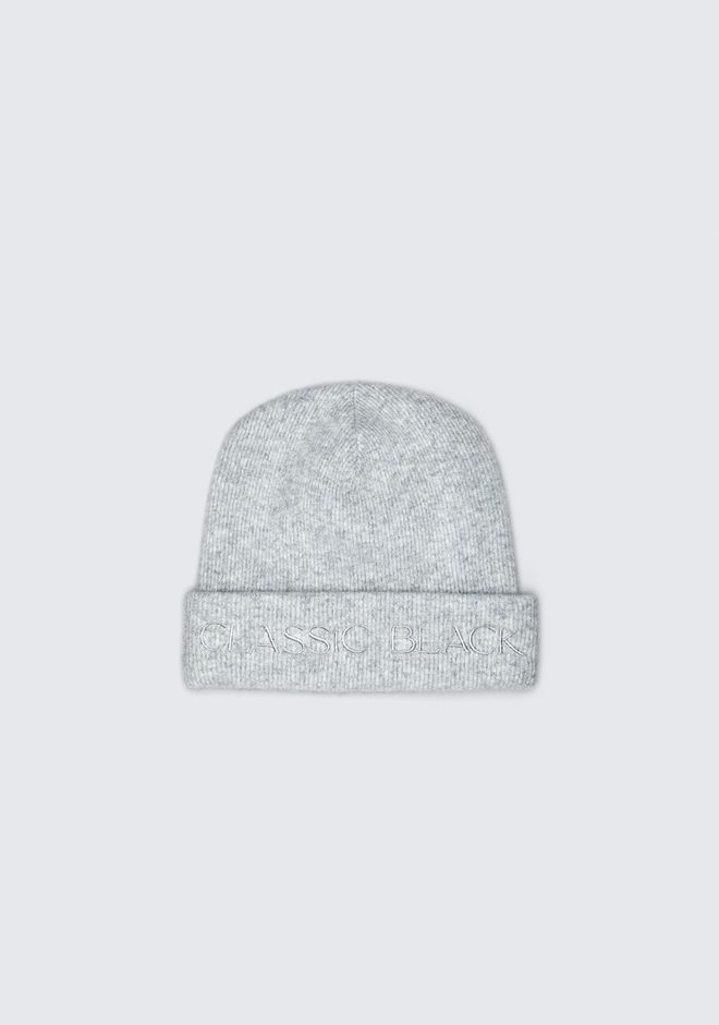 ALEXANDER WANG accessories WOOL RIB BEANIE