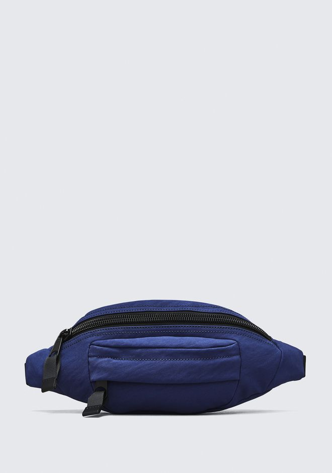 ALEXANDER WANG accessories NAVY NYLON CASS FANNY PACK