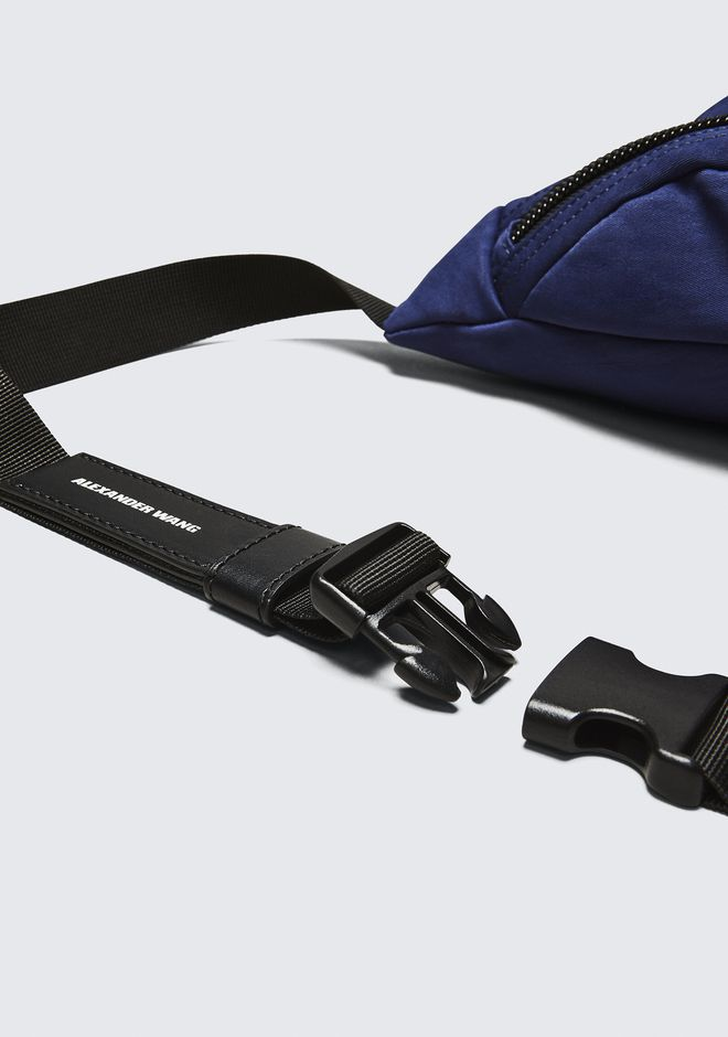 ALEXANDER WANG NAVY NYLON CASS FANNY PACK BELTS & BAG STRAPS Adult 12_n_a
