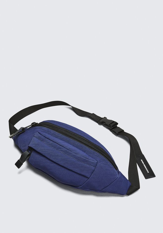 ALEXANDER WANG NAVY NYLON CASS FANNY PACK BELTS & BAG STRAPS Adult 12_n_e