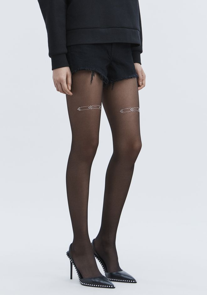 ALEXANDER WANG CEO TIGHTS Accessoires Adult 12_n_a