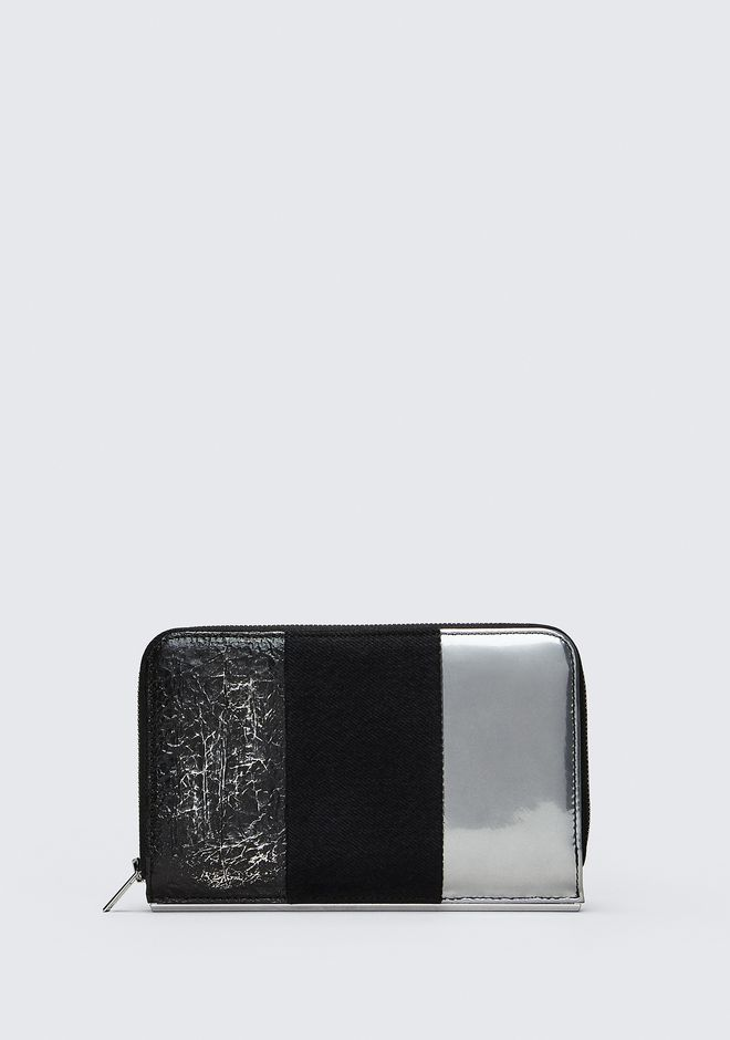 ALEXANDER WANG accessories DIME CONTINENTAL ZIP WALLET
