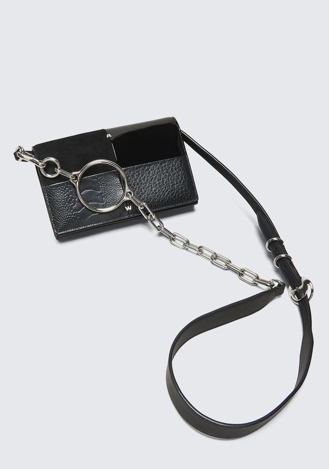 ALEXANDER WANG ACE BIKER PURSE 가죽 소품 Adult 12_n_e
