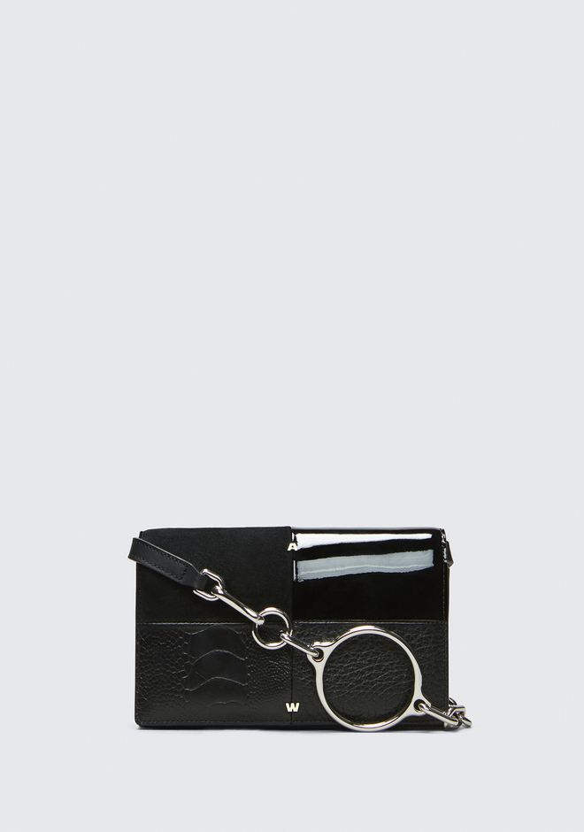 ALEXANDER WANG ACE BIKER PURSE 가죽 소품 Adult 12_n_f