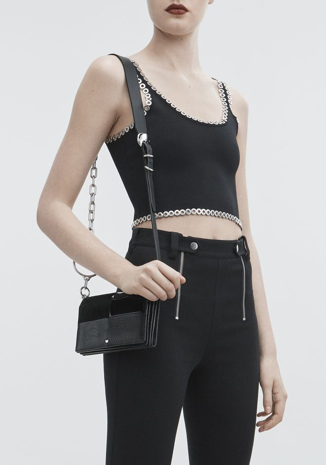 ALEXANDER WANG ACE BIKER PURSE 가죽 소품 Adult 12_n_r