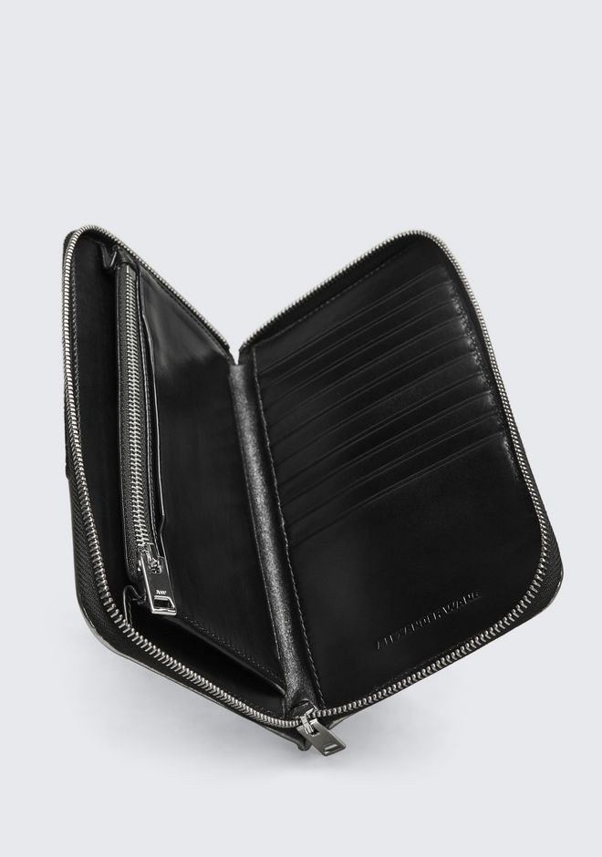 ALEXANDER WANG BLACK DIME CONTINENTAL WALLET SMALL LEATHER GOOD Adult 12_n_e