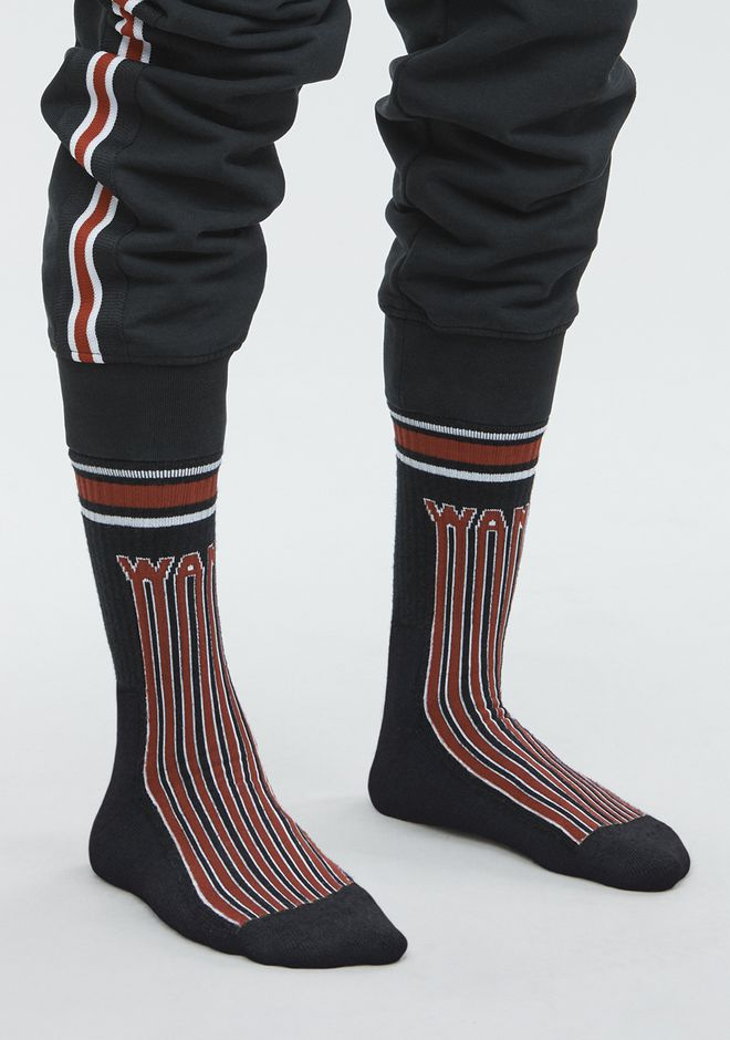 ALEXANDER WANG BARCODE LOGO SOCK Accessories Adult 12_n_r