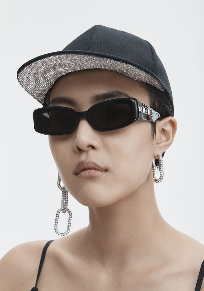 T by ALEXANDER WANG RHINESTONE BASEBALL CAP 스카프 & 모자 Adult 12_n_d