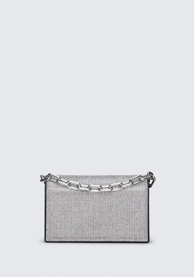 ALEXANDER WANG accessories ATTICA RHINESTONE BIKER PURSE