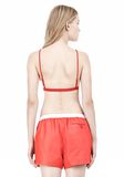 T by ALEXANDER WANG LUX PONTE TRIANGLE BRA TOP Adult 8_n_d