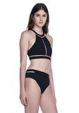 ALEXANDER WANG FISH LINE SWIMSUIT TOP  Swimwear Adult 8_n_a