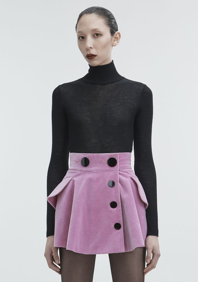 T by ALEXANDER WANG RIBBED TURTLENECK HAUTS Adult 12_n_e
