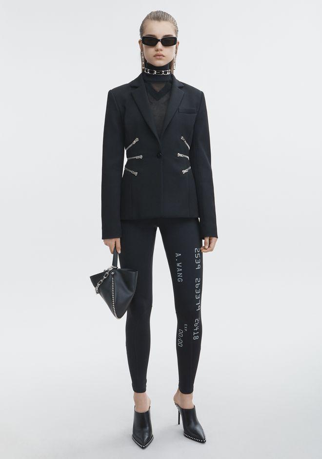 ALEXANDER WANG new-arrivals-ready-to-wear-woman ZIPPER WAIST BLAZER