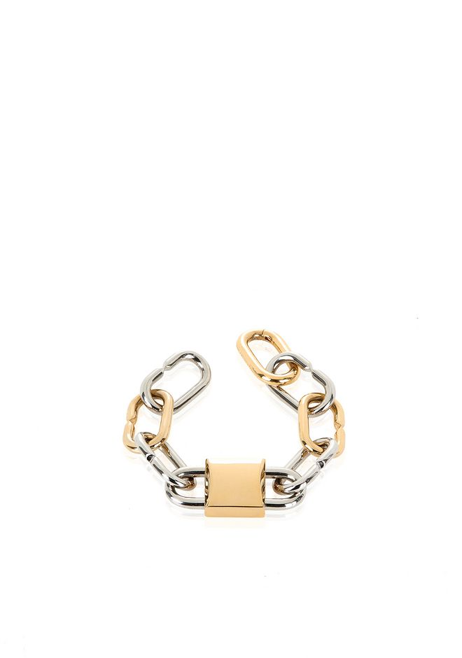 ALEXANDER WANG BROKEN LINK DOUBLE LOCK BRACELET Jewelry Adult 12_n_r